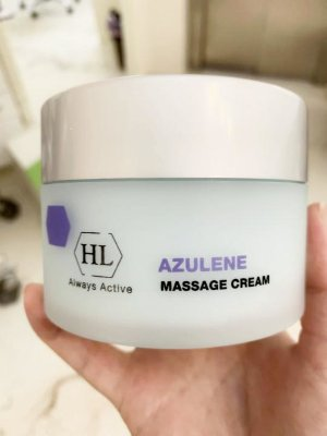 Масажний крем з азуленом Holy Land AZULENE MASSAGE CREAM
