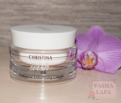 Омолоджуючий крем - Christina Wish Radiance Enhancing Cream