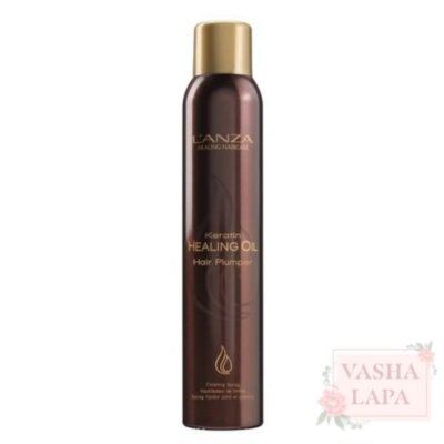 Спрей для об'єму волосся L'anza Keratin Healing Oil Plumper Finishing Spray