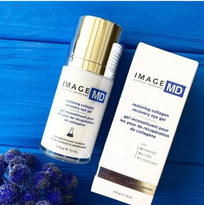 Восстанавливающий гель для век с коллагеном Image Skincare MD Restoring Collagen Recovery Eye Gel