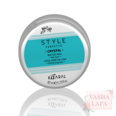 Віск на водній основі Kaaral Style Perfetto Crystal Water Wax - Wet Look