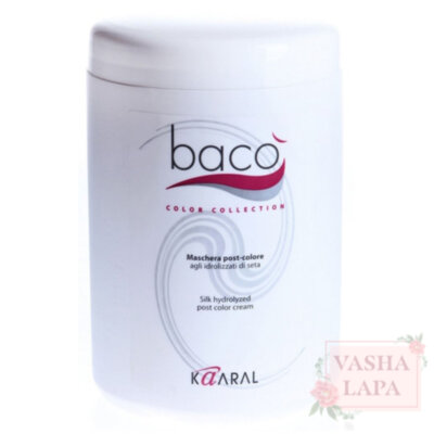 Маска после окрашивания Kaaral Baco Color Collection Silk Hydrolyzed Post Color Cream